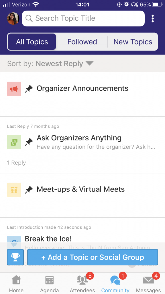 How to Navigate the Whova App - 2021